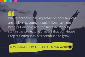 A message from our CEO January 2021